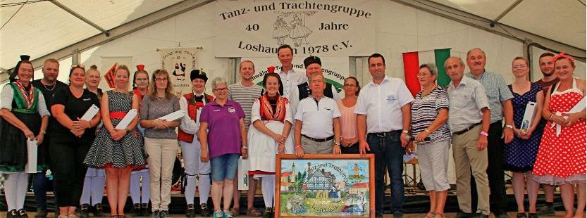 40 Jahre Trachtengruppe-Loshausen